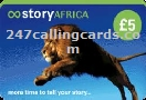 Story Africa £5 Calling Card.